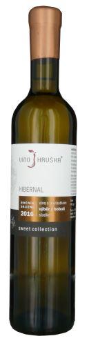 Hibernal Víno Hruška Sweet 2016 výběr z bobulí 0,5l sladké 16216