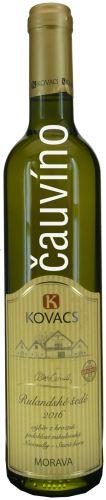 Rulandské šedé Kovacs 2016 výběr z hroznů 0,5 l sladké 34 16