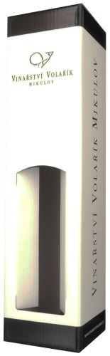 Volařík krabička Classic papírová s okýnkem na 1 lahvičku 0,75 l