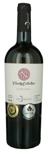 Cuvée Nikol Víno Hruška 2018 pozdní sběr 0,75l polosladké 166 18 Family collection