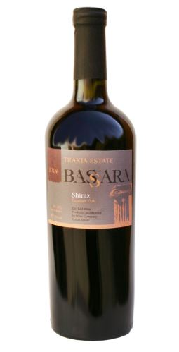 Shiraz premium Bulharsko 2012 Trakia Estata 0,75l suché
