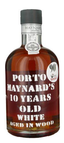 10 let staré víno Maynard´s bílé porto  0,75l  s krabičkou