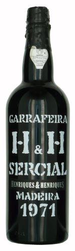 50 let staré víno 1971 Madeira Henriques 0,75 l suché
