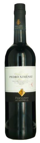 Sherry Pedro Ximénez  F. Castilla 0,75 l DOC Jerez de la Frontera 15% alk. sladké
