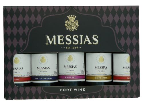 Messias 5 x 5 cl Port Wine v krabičce